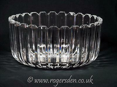 Crystal Glass  Very Heavy Glass Fruit Bowl Very Stylish