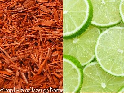 Lime & Sandalwood Fragrance oil for candle making, Soy, paraffin,Bees wax etc