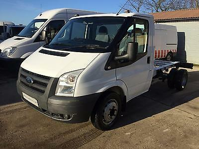 2011 61 Ford Transit 100T350 Mwb Chassis Cab Tipper Chassis. 6 Speed