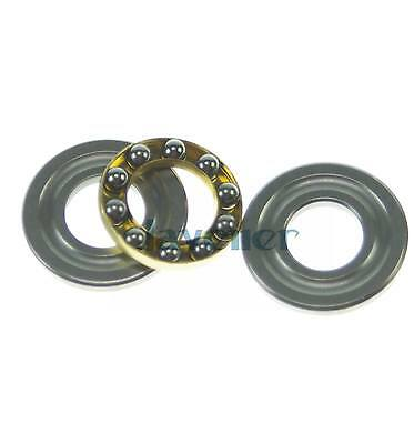8mm(ID) x 16mm(OD) x 5mm(Thickness) F8-16M Axial Ball Miniature Thrust Bearing
