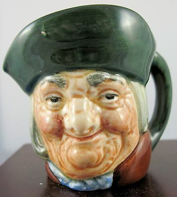 "Royal Doulton Mini Character Jug ""Toby Philpot""  D6043"