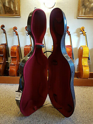 Cello Cellokasten Celloetui Cellokoffer Ultralight GEWA Original Carbon Cellocas