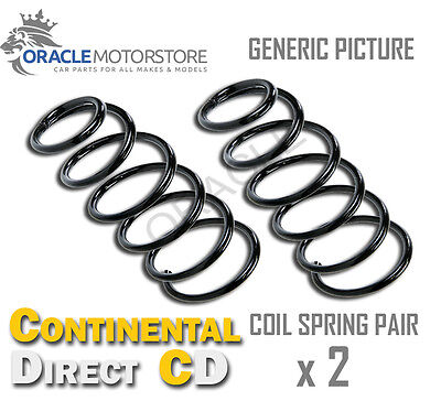 2 x CONTINENTAL DIRECT FRONT COIL SPRING PAIR SPRINGS OE QUALITY - GS7011F