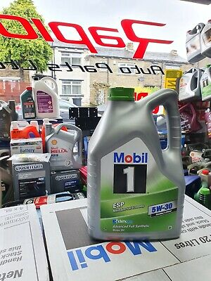 5L Mobil 1 ESP Formula 5w30 - Fully Synthetic Engine Motor Oil