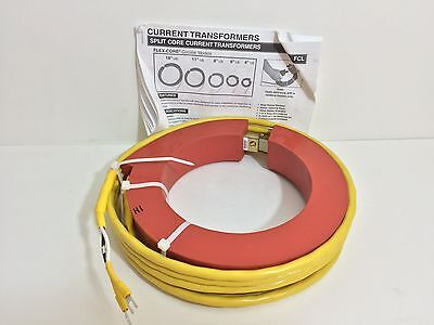 New! Flex-Core Current Transformer Fcl1000/5-6 Fcl100056 See Pic #2 For Specs