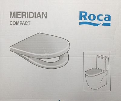 ROCA MERIDIAN COMPACT Toilet Seat & Cover with Soft Closing Hinges 8012AC004