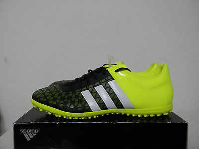 999dc833463 Authentic New Adidas Men s Messi 15.3 FG AG Soccer Cleats B26950 Black  Yellow 13