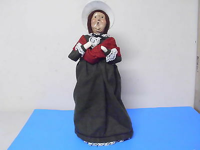Byers Choice Williamsburg Doll Figure Lady 1993