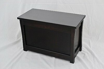 "Slipper chest. Mission style NEW! Red oak. 23"". CQ-3-80"