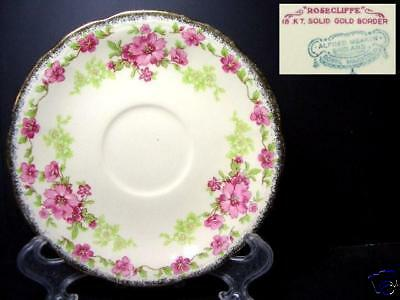 Beautiful Alfred Meakin Rosecliffe Saucer Only [6]
