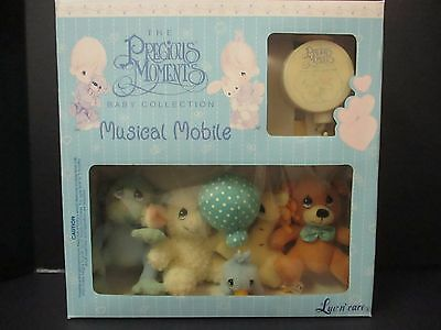 1999 Precious Moments Baby Collection Musical Mobile - Nib - Luv N' Care  El 945