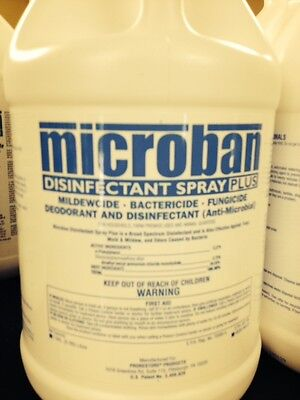 Microban / Mediclean Disinfectant Spray Mold Remediation Flood & Sewage 1 Gal