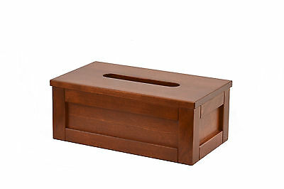 Wooden tissue box cover. shakers style. yellow birch. NEW! TE-823