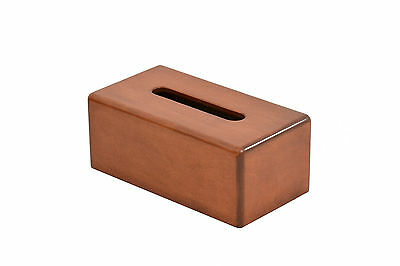 Wooden tissue box cover. Maple. NEW! TE-823