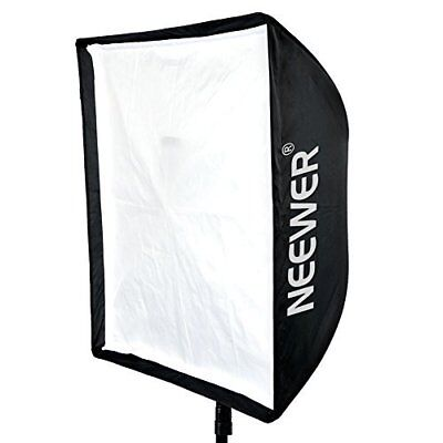Neewer 60x60cm Portable Umbrella Softbox Reflector for Studio Flash Speedlite US