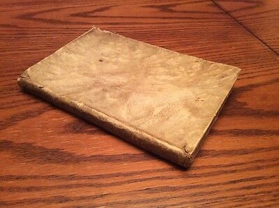 17th Century Book with Hand Writing