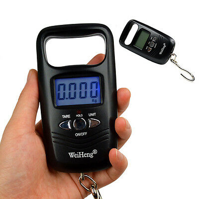 50Kg/5g Digital Hanging Luggage Fishing Pocket Weight Scale Electronic Backlight