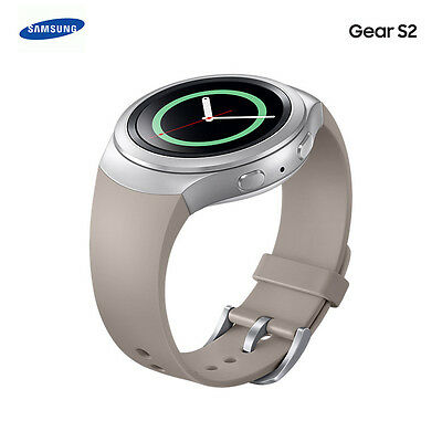Original Samsung Gear S2 Basic Smart Wrist Watch Replacement Strap Band Gray