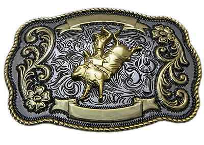 Rodeo Bullrider Trophy Belt Buckle Country Cowboy Cowgirl Fashion