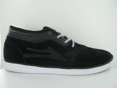 SKATE SCHUHE LAKAI Howard Dessert Boot black / white US 9 / EUR 42.5