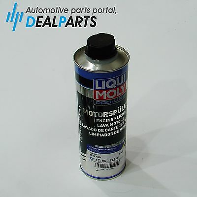 GENUINE Liqui Moly Motor Flush 500ml No.2427 Engine Oil Additive Pro