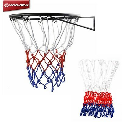 WINMAX Basketball Net Basket Hanging Wall Mounted Outdoor Netball Rims Sports