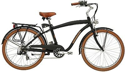 26 zoll beach cruiser chopper elektro fahrrad e bike. Black Bedroom Furniture Sets. Home Design Ideas