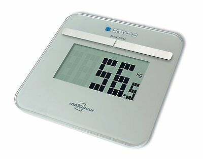 Salter Maxview Analyser Body Fat Digital Bathroom Scale Body Water Muscle Mass