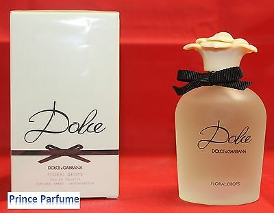 D&G DOLCE E GABBANA DOLCE FLORAL DROPS EDT NATURAL SPRAY VAPO - 75 ml