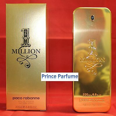 1 MILLION PACO RABANNE EDT NATURAL SPRAY - 200 ml