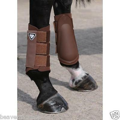 Equilibrium Tri-Zone Brushing Boots Horse - BROWN XL - RRP £34.99 *SALE*