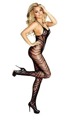Catsuit Bodystocking ouvert Dessous Overall Reiz PR4678 Provocative