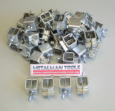 BUTT WELDING PANEL CLAMPS (set of 8)  PANEL BEATING CLAMPS, SHEETMETAL CLAMPS