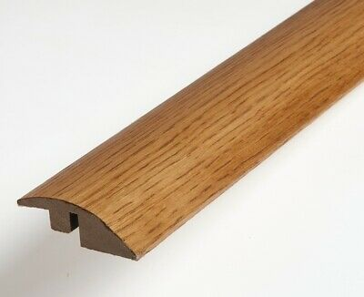 Real Solid Oak Ramp For Wood Flooring Profile Trim Door Threshold Bar GOLDEN OAK
