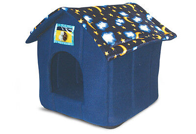 Ancol Just 4 Pets House Bed - Moon and Stars - Dog & Cat