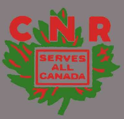 CANADIAN NATIONAL REEFER ADHESIVE STICKER for American Flyer S Gauge Trains