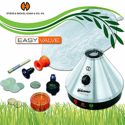 Vaporizzatore VOLCANO VAPORIZER CLASSIC by Storz&Bikel con EASY VALVE - OFFICIAL