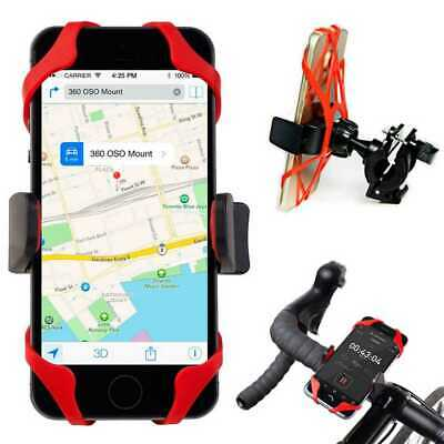 Support Vélo Bike Bicycle Moto Guidon pour Smartphone Portable Fixation Holder
