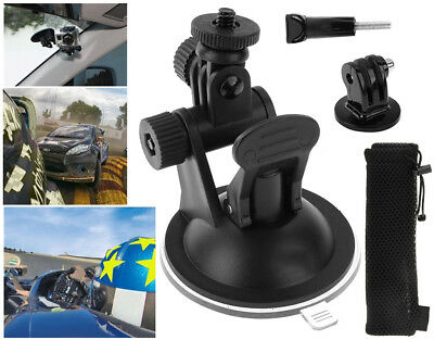 Suction Cup Car Windscreen Mount Holder for GoPro HD Hero 2 3 3+ 4 5 with Bag