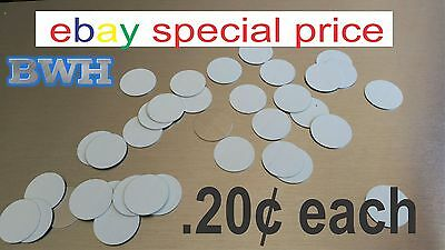 "1"" CIRCLE - DISC for Dye Sublimation  / .025 gauge aluminum / jewelry making 50"