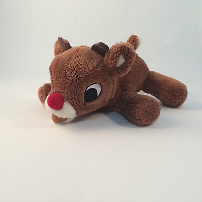 "Rudolph The Red-Nosed Reindeer Plush  7"" Collectible Super Cute"