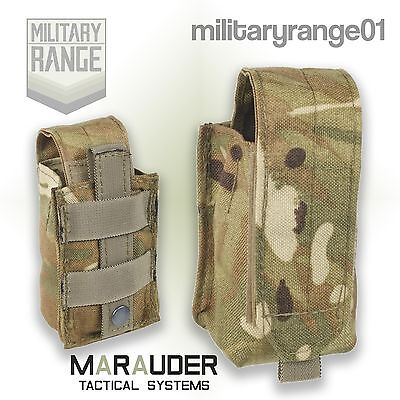 Marauder Military Smoke Grenade Pouch MOLLE - British Army MTP Multicam -UK Made