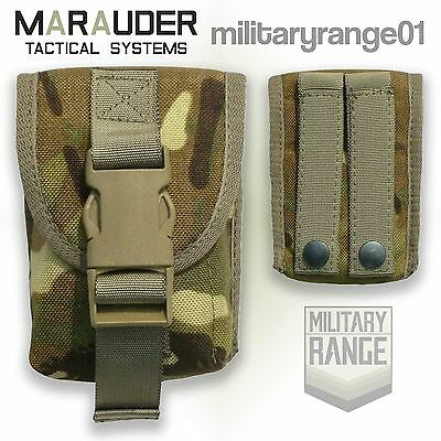 Marauder Padded Grenade Pouch - MOLLE - British Army MTP Multicam - UK Made