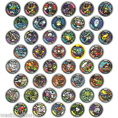 Yo-Kai Yokai Series 1 Medals - Pick / Choose your Medal for Yo Kai Watch New