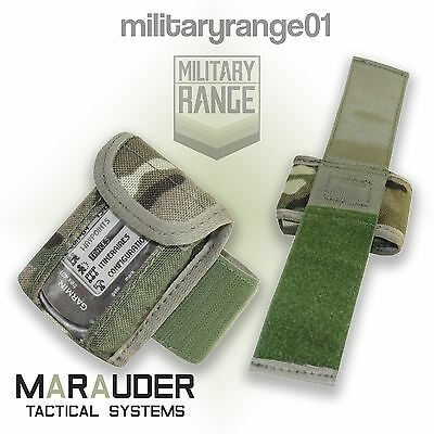 Marauder Military Micro GPS Wrist Pouch - British Army MTP Multicam - UK Made