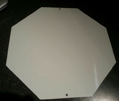 "1 Piece  STOP SIGN  ALUMINUM SUBLIMATION BLANKS 12"" x 12"" / NEW"
