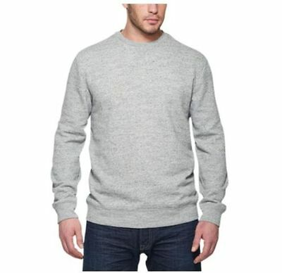NWT Weatherproof Vintage Men's Crew Neck Sweatshirt Long Sleeve Gray Size M