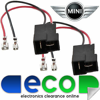 BMW MINI R50,R52,R53 2001-2006 Car Speaker Adaptor Plug Lead Connectors 55-BM01