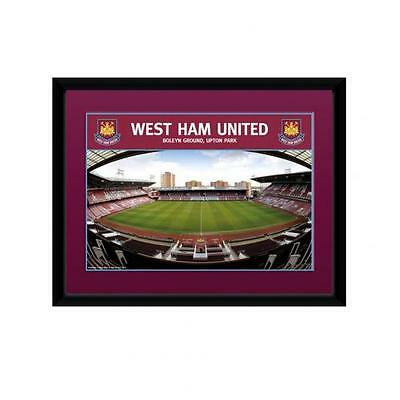 "Official West Ham United FC Framed Picture 8"" x 6"" - Boleyn Ground Upton Park"