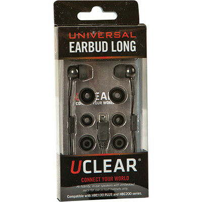 UClear Universal Ear Buds Long for HBC100Plus and HBC200 Force Communication